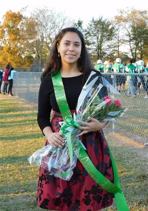 Jade Canales.Homecoming Queen