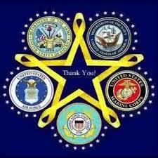 Military Branches Thank you