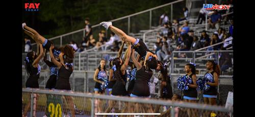 Cheerleaders show their talents!