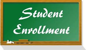 Enrollment sign