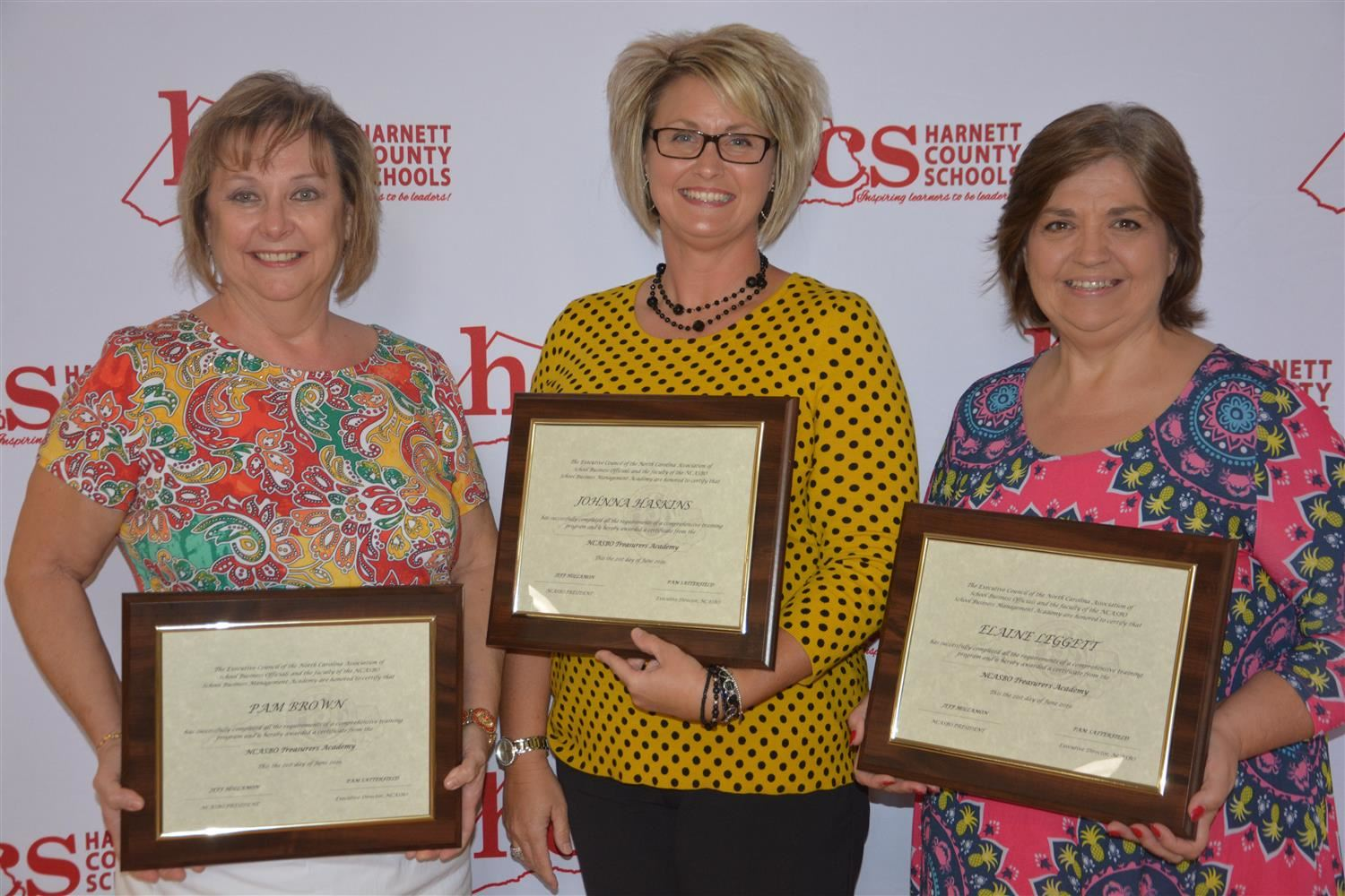 Board of Education Recognizes NCASBO Graduates