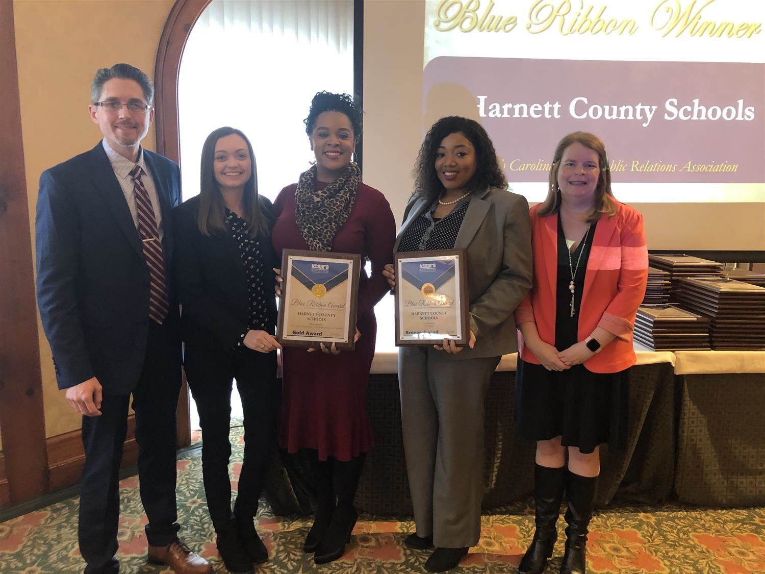 HARNETT COUNTY SCHOOLS WINS STATE AWARDS FOR EFFECTIVE SCHOOL COMMUNICATIONS AND PUBLIC RELATIONS
