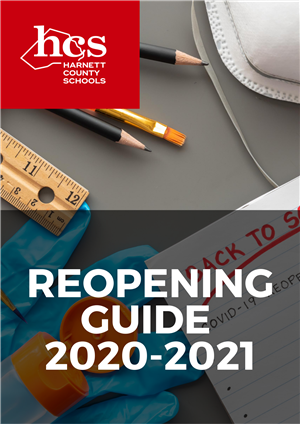 HCS Reopening Guide Cover
