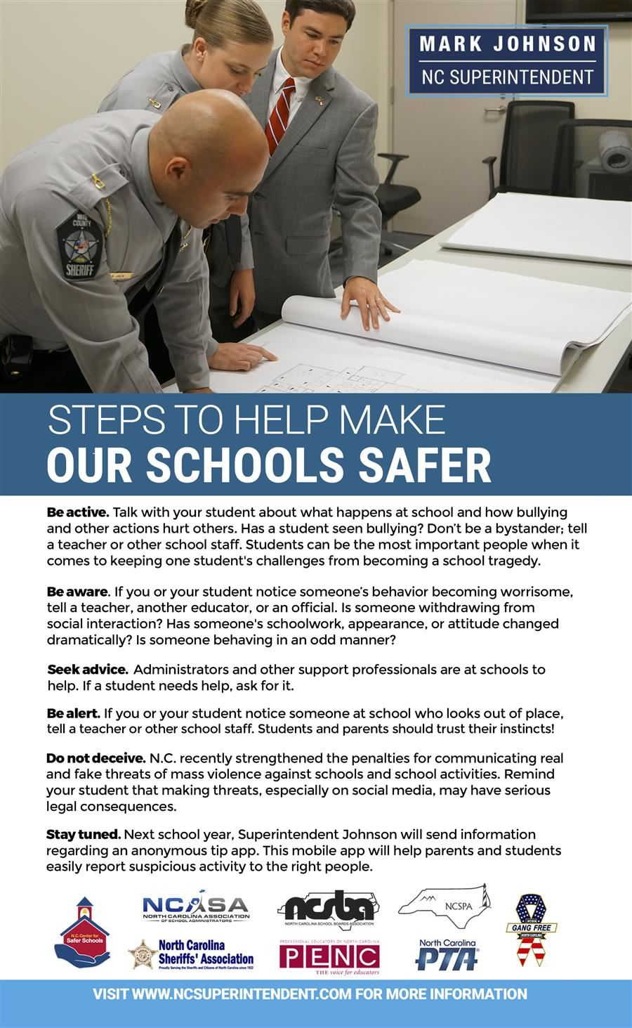 September is School Safety Month